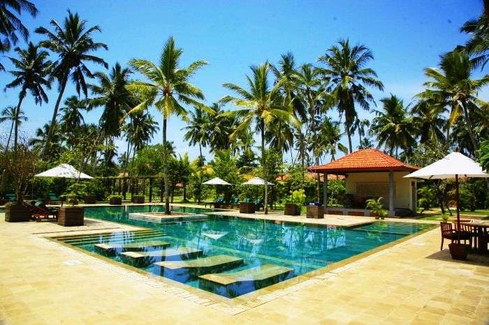 Get lost in the opulent SriLankan and Balinese architecture at Serene Pavilions Wadduwa