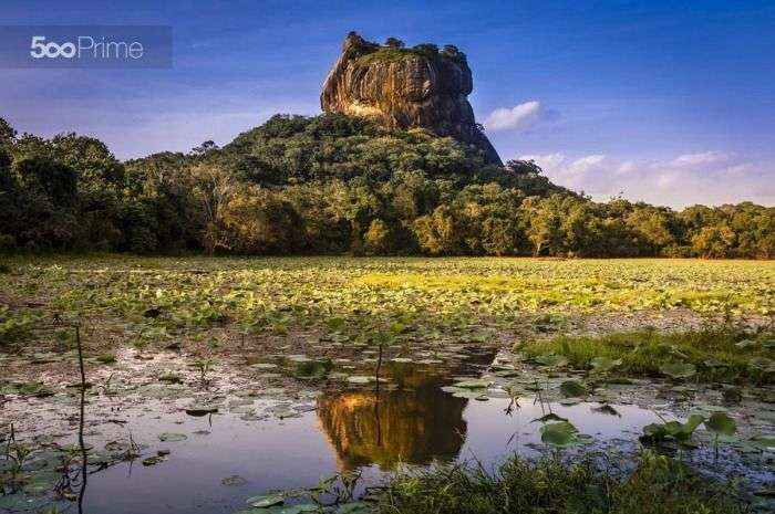 Sigiriya Rock Fortress is a major tourist attraction in Sri Lanka