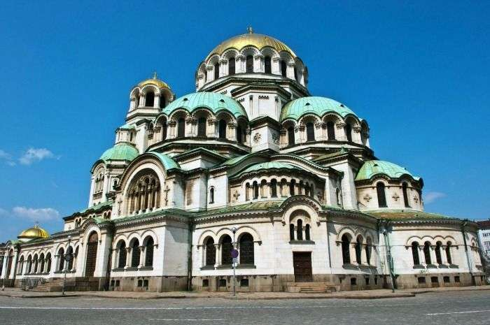 Aleksander Nevski memorial Church in Sofia, Bulgaria