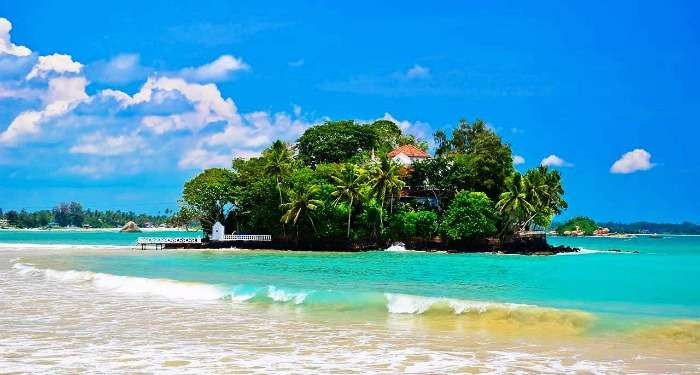 Taprobane Island puts an exotic twist to a romantic holiday