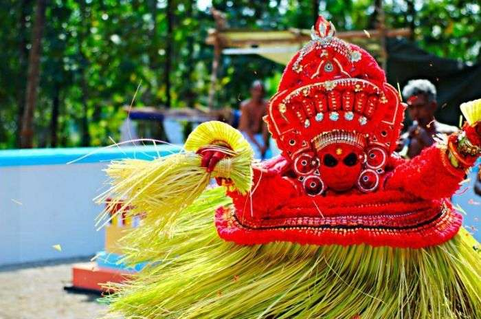 The masked dance of Kerala- Theyyam