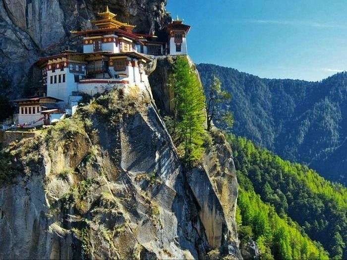 Tiger's Nest Monastery is the Most Sacred Buddhist Pilgrimage Site in Bhutan