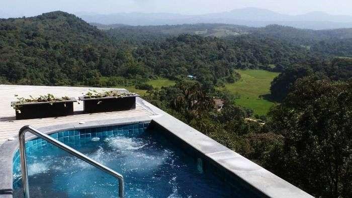 Vivanta by Taj Madikeri Coorg - a stunning view of the rainforest