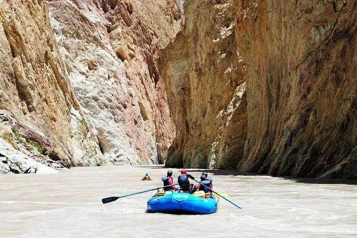 White water River Rafting in Zanskar River