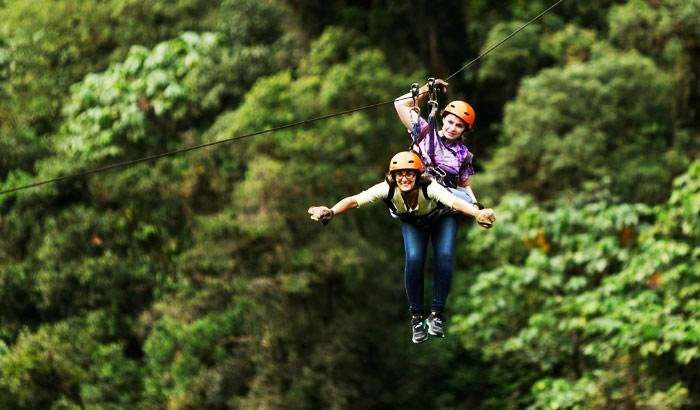 Enjoy Zip-Lining with instructor in Matheran