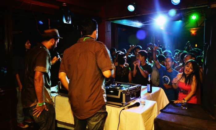 DJ show at cloud 9, shillong