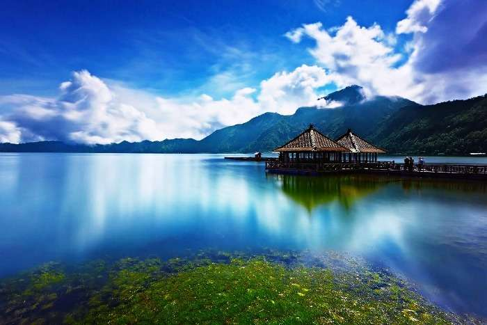 The majestic island of Bali, Indonesia