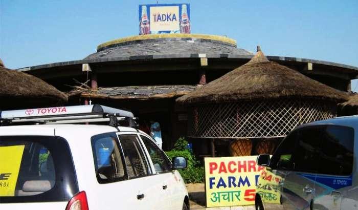 The Canopies of Bhajan Tadka Dhaba in Gajraula