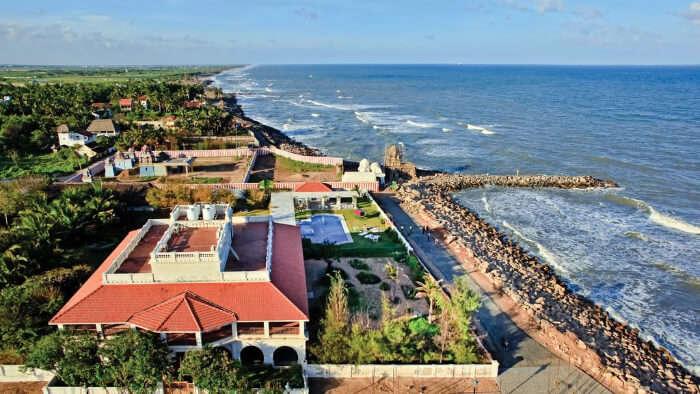 Indian beach resort