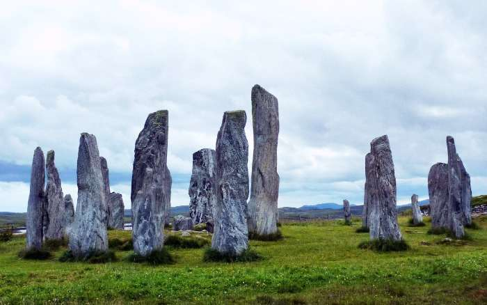 Callanish Standing Stones in Scotland