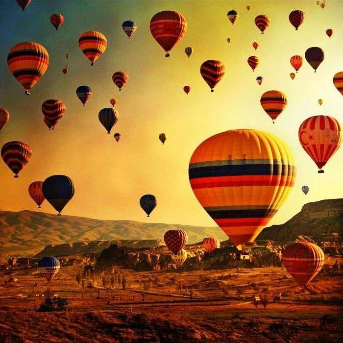 Cappadocia balloon tour in Turkey
