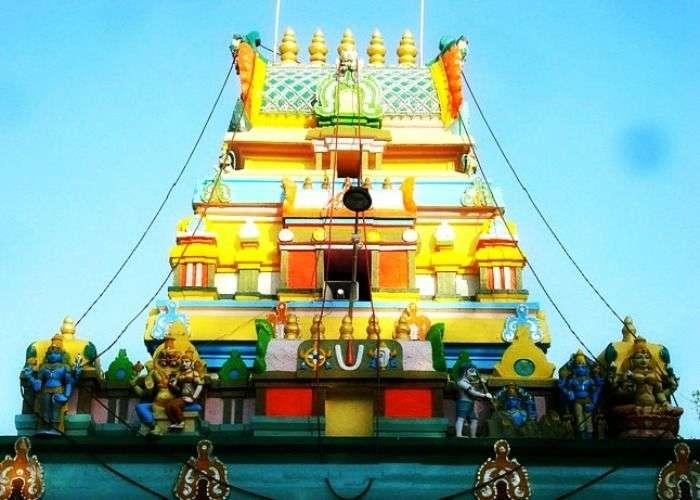 View of Chilkur Balaji in Hyderabad