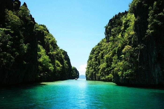 El Nido island in Philippines