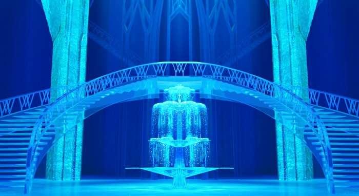 Elsa's Palace in Frozen