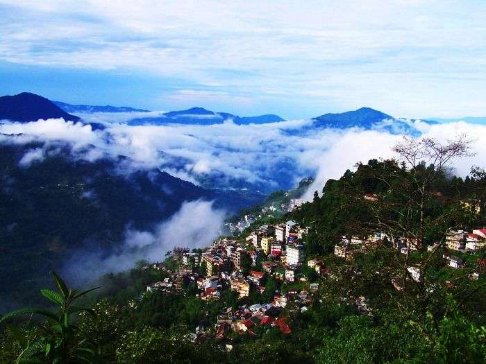 Hill-town-in-Gangtok