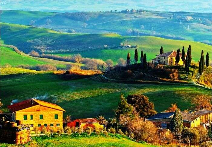 The enchanting landscapes of Tuscany