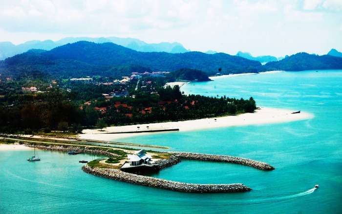 Langkawi - the most picturesque beach in Malaysia