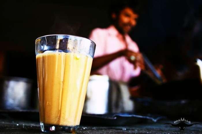 Chai at Lucky Dhaba near Jalandhar