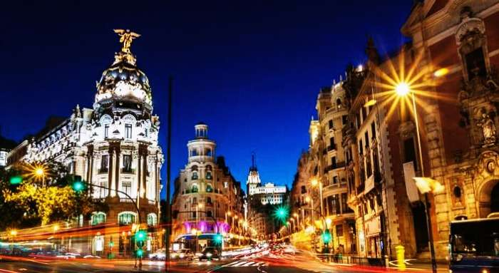 Experience Madrid on your honeymoon in Spain