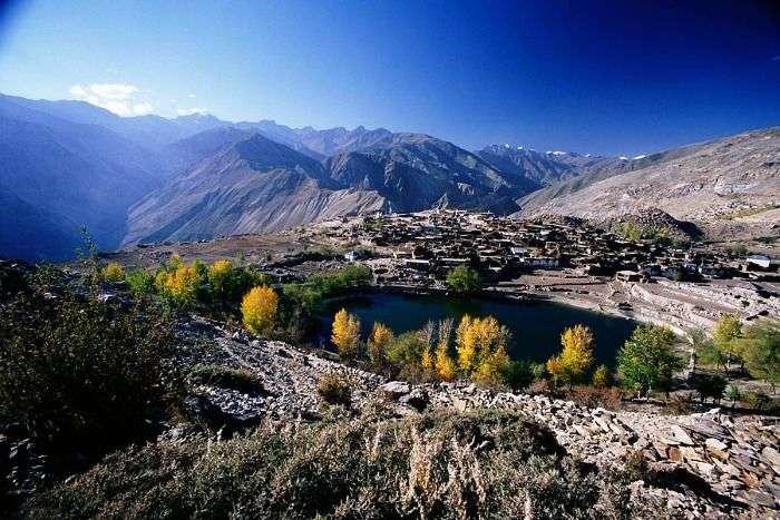 Rugged mountains of Nako, Lahaul Spiti