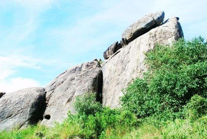 Pride Rock in Serengeti National Park