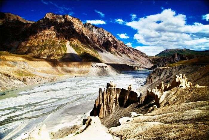 Spiti Valley - surrounded by mountains and glaciers