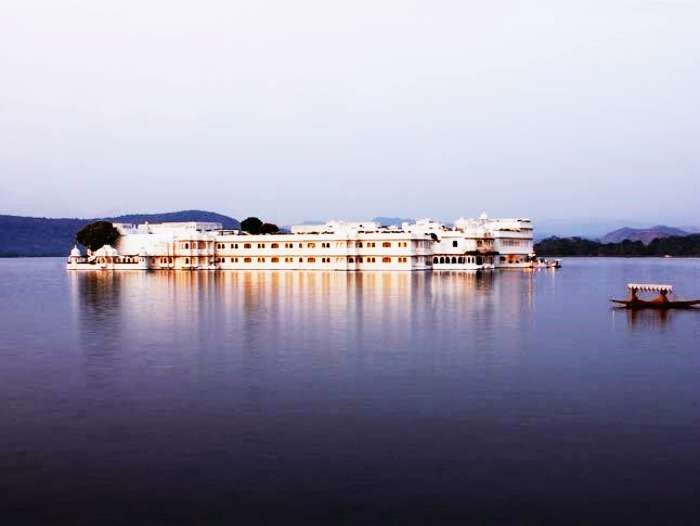 The most romantic Taj Lake Palace Udaipur
