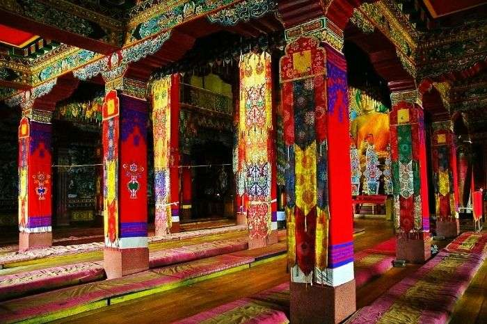 Entry of the Tawang Monastery in Arunachal Pradesh