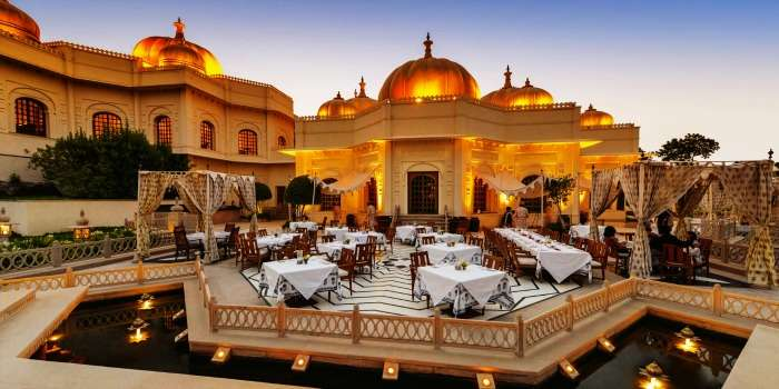 Experience royalty at Oberoi Udaivilas in Udaipur