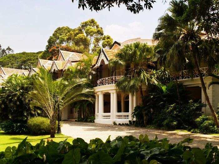 The Heritage Wing of The Taj West End in Bangalore