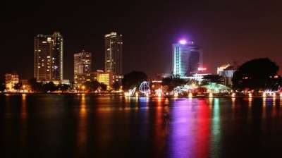 The capital city Colombo