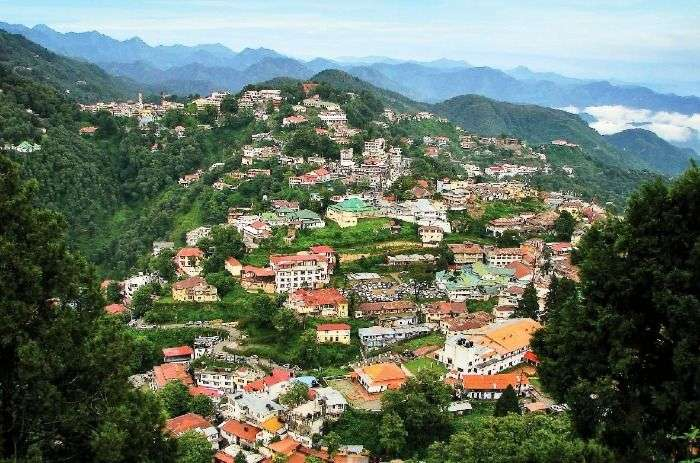 Mussoorie hill town - one time beautiful town's quaint charm