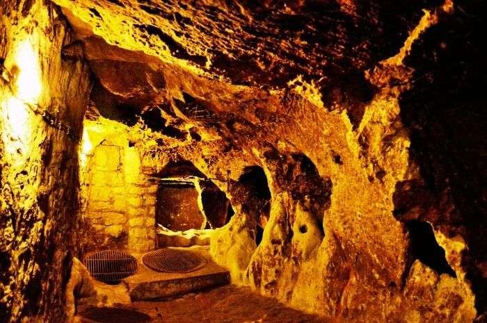 Underground City of Derinkuyu in Turkey