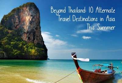 Travel destinations in asia this summer