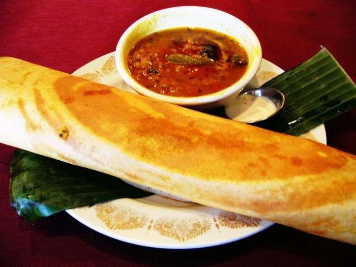 Dosa-Sri Lankan Vegetarian Food
