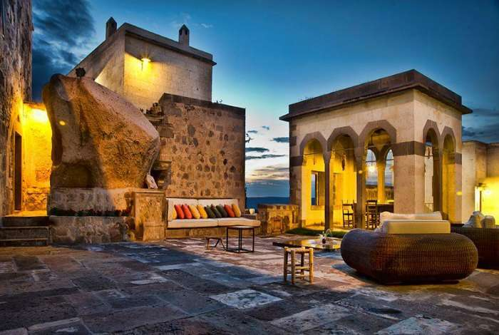 Argos in Cappadocia is one of the most romantic resorts in Turkey