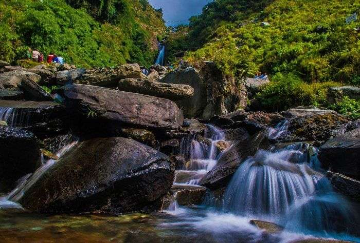 Bhagsu Falls near Mcleod Ganj
