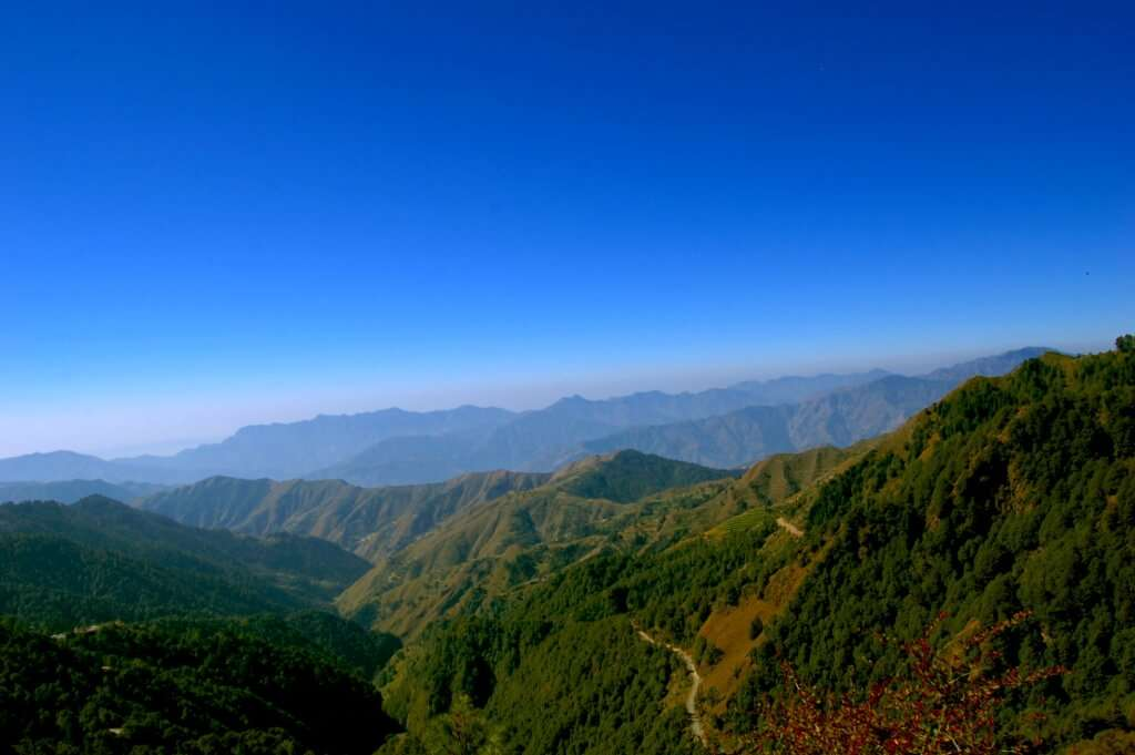 the beautiful hills of Chakrata