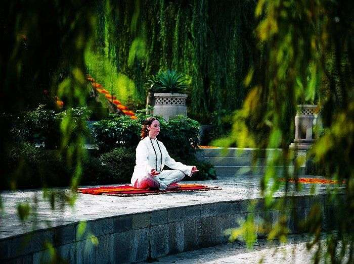 Relax, rejuvenate and unwind at the Ananda Spa in Himalayas