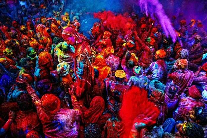 Holi Celebrations in Vrindavan