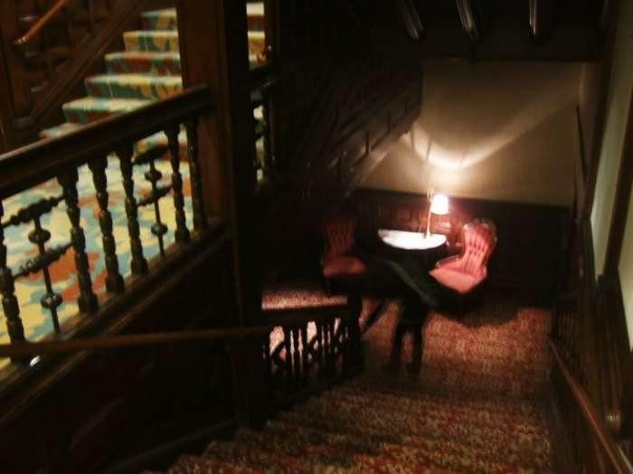A ghostly figure captured in Hotel del Coronado