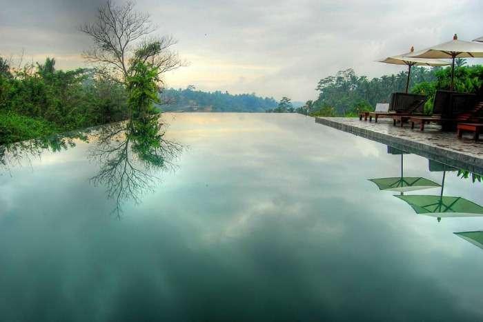 Infinity pool at Alia, Ubud Bali