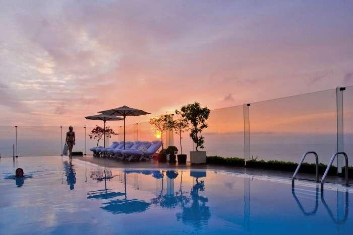 Infinity pool at Sheraton Nha Trang, Vietnam
