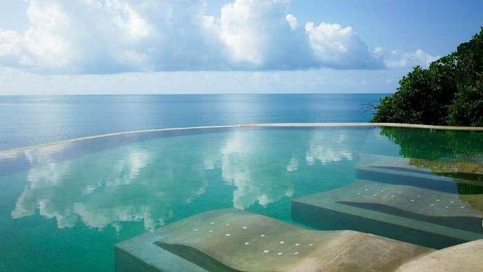 Infinity pool at Silavadee Resort, Koh Samui, Thailand