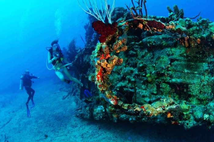 Wreck of Inket in Duncan Island