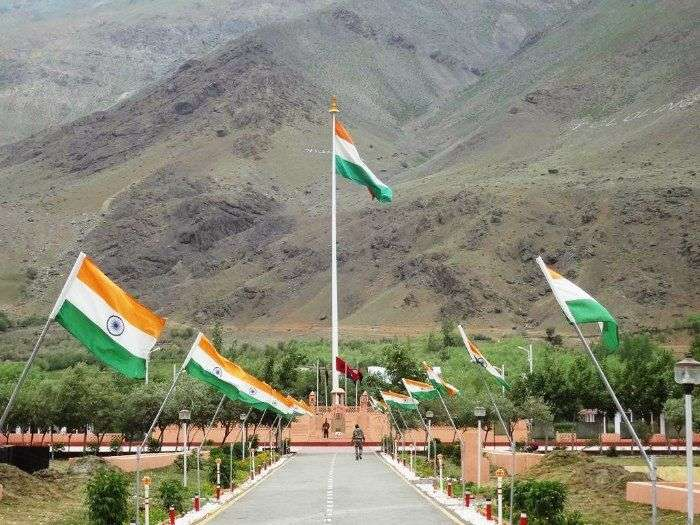 Kargil base in Ladakh
