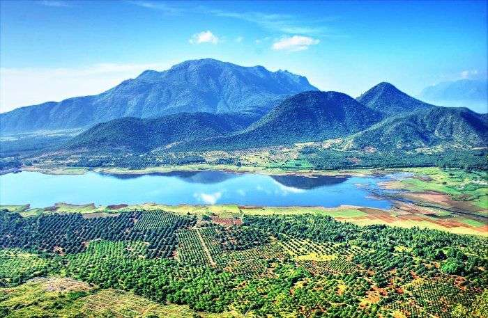 The panoramic views of one of the best places to visit in India - Kodaikanal