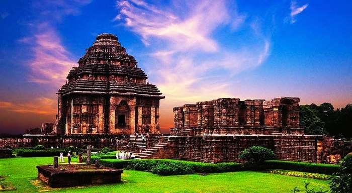 Konark Temple in Orissa