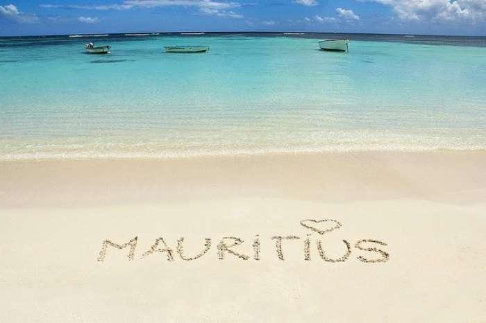 The pristine beaches of Mauritius