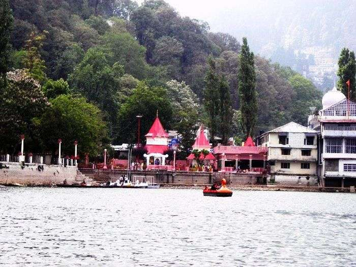 Visit the Naina Devi Temple